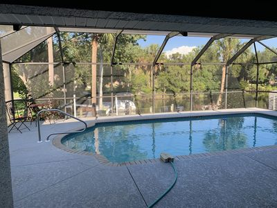 Photo for Waterfont Home, Heated Pool, Kayaks, and Ice Machine.