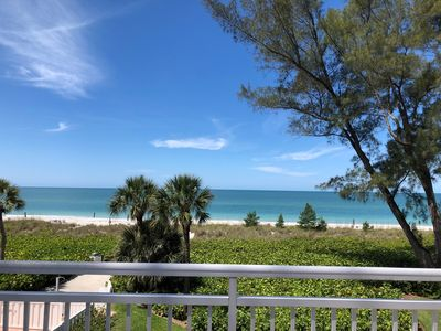 Photo for 3rd floor end unit Oceanfront Condo on Longboat Key..Sunset Views!