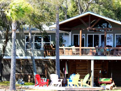 Photo for DIRECTLY ON THE INTERCOASTAL WATERWAY WITH DOCK IN NO WAKE ZONE PRIVATE ISLAND