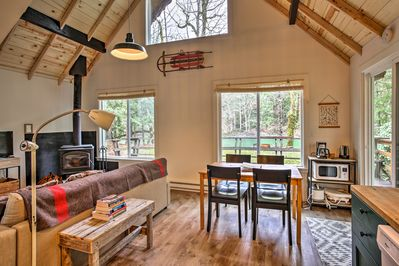 Escape to Baring and stay at this cozy vacation rental cabin!