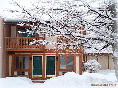 Photo for Less than 500' from Schuss Ski Slopes - 3 bedroom, 3 bathroom