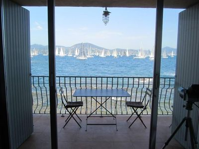 Photo for Apartment with a wonderful sea view, located in the heart of Saint-Tropez village