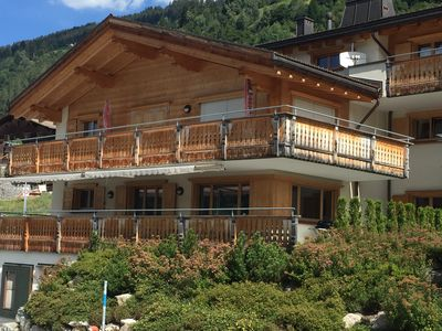 Photo for 3 1/2 or 4 1/2 room apartment in Klosters-Saas with high standard of equipment