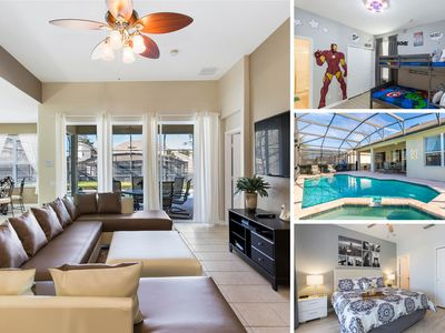 Photo for Florida Haven   4 Bed Pool Home with Games Room, Kids Bedrooms