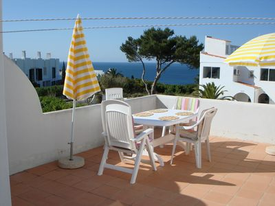 Photo for Apartment with sea view for 2 persons, directly on the sea, 5 min. z. Beach