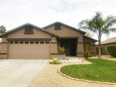 Awesome Chandler Home With 4 Bedrooms and Heated Pool in Private Backyard