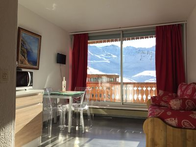 Photo for Studio Val Thorens 22 M2, Plein Sud, Foot of slopes Fully Renovated