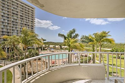 Soak in your location from the private wraparound balcony.
