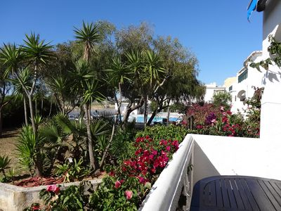 Photo for Luxury 2-bed apartment, large balcony overlooking gardens and sea