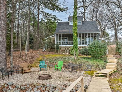 Photo for Lake Murray Waterfront Home w/ Dock in Leesville!