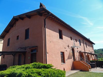 Photo for Tenuta Cantagallo - Rosemary apartment with swimming pool near Florence