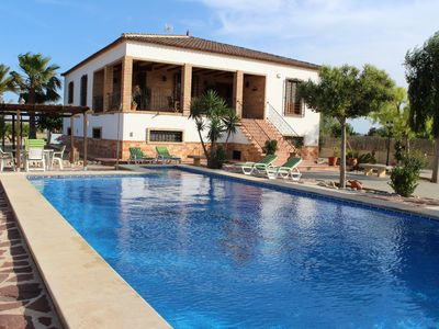Photo for Chalet Las Cebadas, pool, barbecue, 8 to 10 pax, wifi, near beach, natural beauty