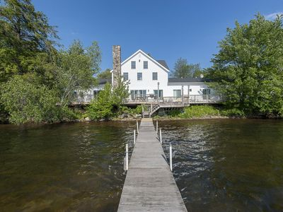Photo for The Homestead: 14 bedroom lakehouse in scenic Catskills town by Red Cottage Inc.