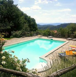 Photo for Il Cantuccio Casale between Umbria and Tuscany with swimming pool in full relax