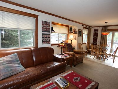 Photo for End Unit - Convenient Location - Next to Ouray Hot Springs Pool