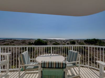 Photo for Wrightsville Dunes B-1C - Ocean front first floor condo with a pool