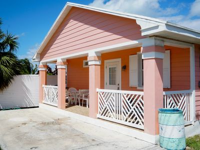 Photo for Starfish Cottage. FREE Golf Cart Included. Just 2 minute walk to the Beach