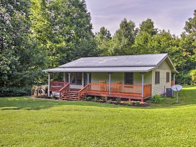 Photo for NEW! Cosby Cabin w/ 2 Porches, Deck & Game Room!