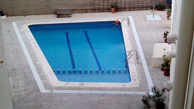 Photo for HUTB013315-Apart. waterfront, 2 bedrooms, swimming pool and parking