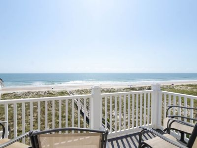 Photo for Top Floor oceanfront condo with fantastic views of the Atlantic Ocean