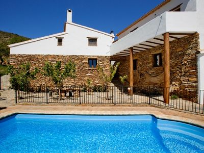 Photo for Rural house (rental entire) Reul Alto Cortijos Rurales for 8 people
