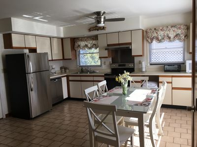 Photo for Pet friendly Waterfront, Boat Dock, Views the bay and OC.  3 bdrm, 2 baths