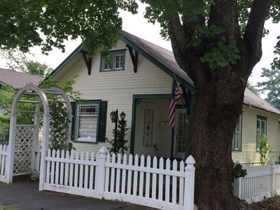 Photo for Downtown CdA Vintage Cottage ~ Clean Comfortable Convenient - Walk to All