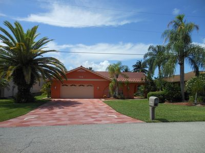 "Photo for Cape Coral FL is the "" Water Wonderland"" Waterfront 3 bedroom home. Boat rental"