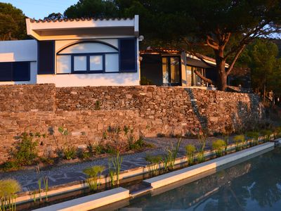 Photo for Character villa with splendid views of the sea