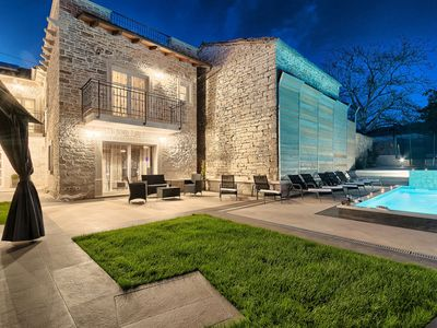 Photo for Beautiful Villa Patrick, in Istria, with a Pool