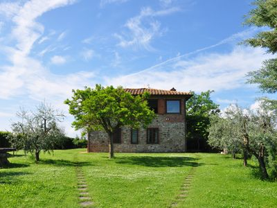 Photo for VILLA CITY OF THE PIEVE, BORDER UMBRIA-TUSCANY. PRIVATE POOL, WI-FI, ALL FENCED