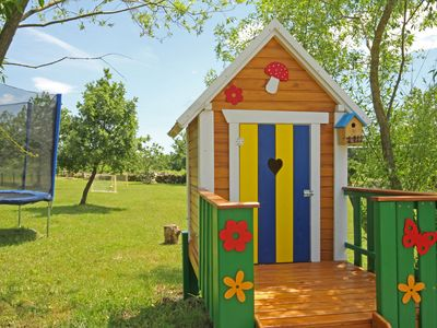 Photo for Charming house for kids with parents on 3000 m2 of land :)