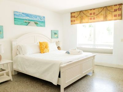 Photo for Harbourside  2 - King Studio, Garden View, Bright & Clean, 5-Min Walk to the Beach, Dog-Friendly