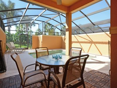 Photo for GATED RESORT COMMUNITY, FREE WIFI, PRIVATE SOUTH FACING POOL!