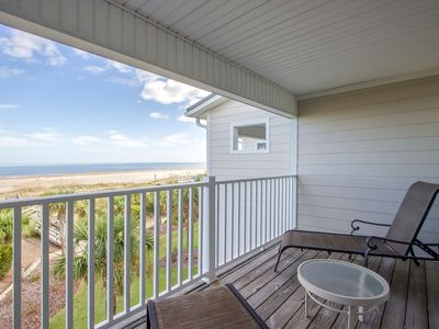 Photo for Oceanfront Townhome with 2 Master Bedrooms at Beachfront Resort with Community Pools, Pet Friendly