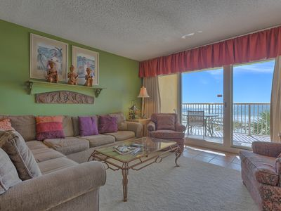 Photo for Driftwood Towers 2F Gulf Shores Gulf Front Vacation Condo Rental - Meyer Vacation Rentals