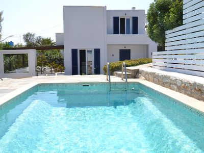 Photo for Beautifull villa in stelida naxos