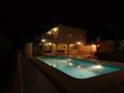 Photo for Spacious, Luxury  Villa, Large Private Pool,  with Super  Fast WIFI new for 2016