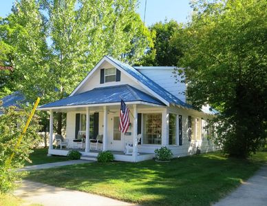 Photo for The Lake Street Cottage ~ Walk to Town~ Bikes included!