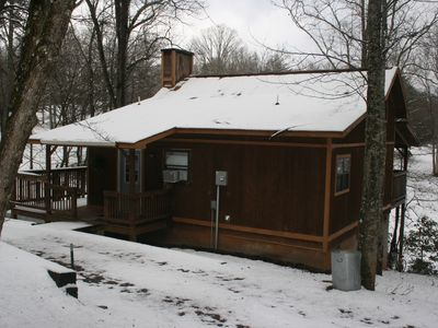 Photo for Private, Secluded, Relaxing Cabin... Just Off The Beaten Path.