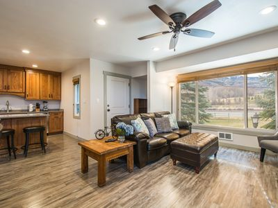 Photo for Canyons View 20: Park City Canyons: Nicely updated 2 bedroom, 2 bath. Walk to the Cabriolet Lift