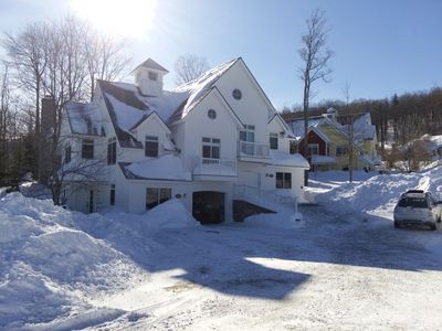Photo for Stratton Mountain Resort Solstice Luxury 5 bedroom Ski-In/Out Vacation Home