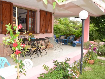 Photo for House with garden, near the beach, with air conditioning and wi-fi free