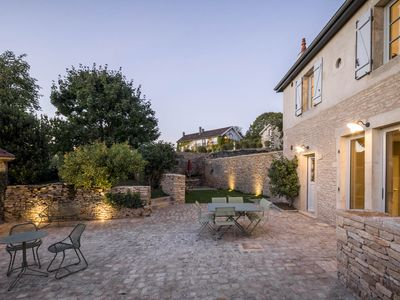 Photo for Clos Poirier - Stunning & luxurious village house with 2 bedrooms & garden