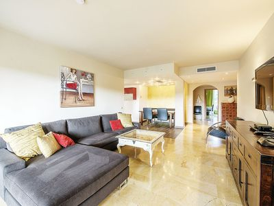 Photo for Luxury apartment in upscale conditioning, air conditioning, heating, golf, kid-friendly!