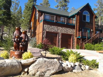 Photo for Awesome Family Getaway-Full Log Cabin