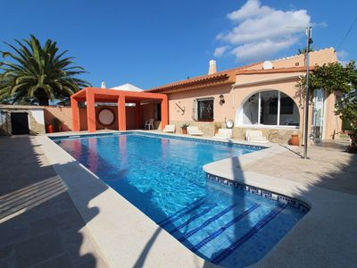 Photo for Beautiful house with private pool, terrace and barbecue 1km from the beaches