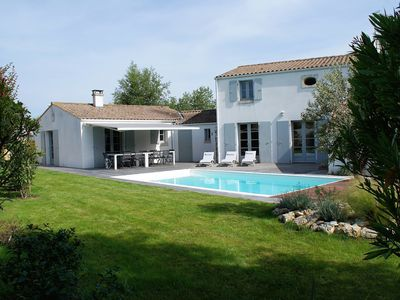 Photo for Ile d'Oleron Les Allassins - Beautiful villa with swimming pool near beach and shops