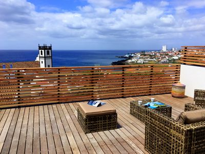 Photo for Villa with private terrace - Stunning private house with amazing view