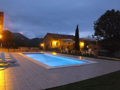 Photo for Self catering Mas Moreta for 22 people in the Catalan Pyrenees